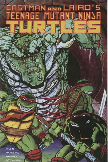 Teenage Mutant Ninja Turtles (1984) 45-A by Mirage