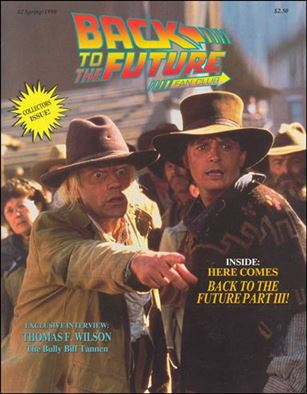 Back to the Future Fan Club Magazine 2-A
