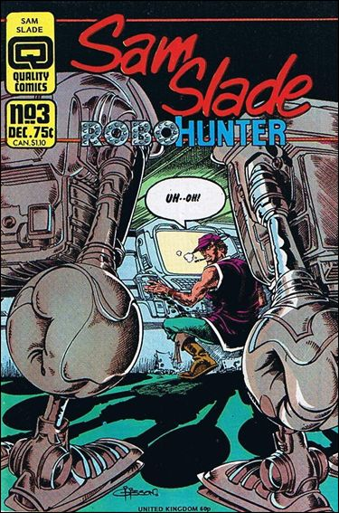 Sam Slade Robo Hunter 3-A by Quality Comics