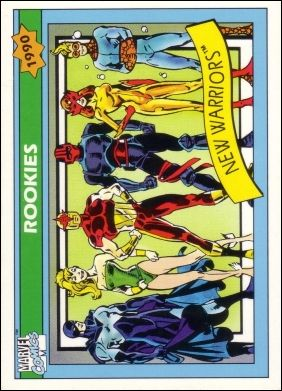 Marvel Universe: Series 1 (Base Set) 85-A by Impel