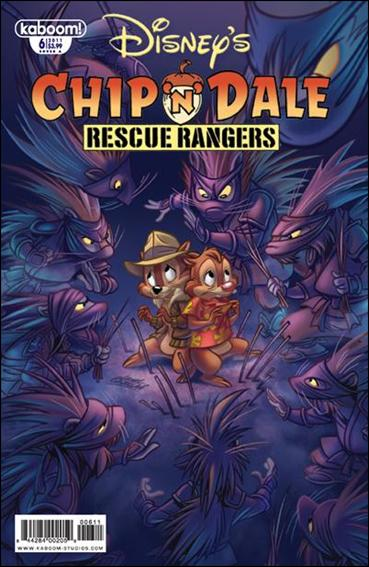 Chip 'n' Dale Rescue Rangers (2010) 6-A by Kaboom!