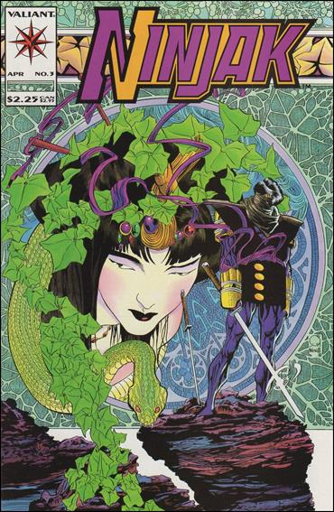 Ninjak (1994) 3-A by Valiant