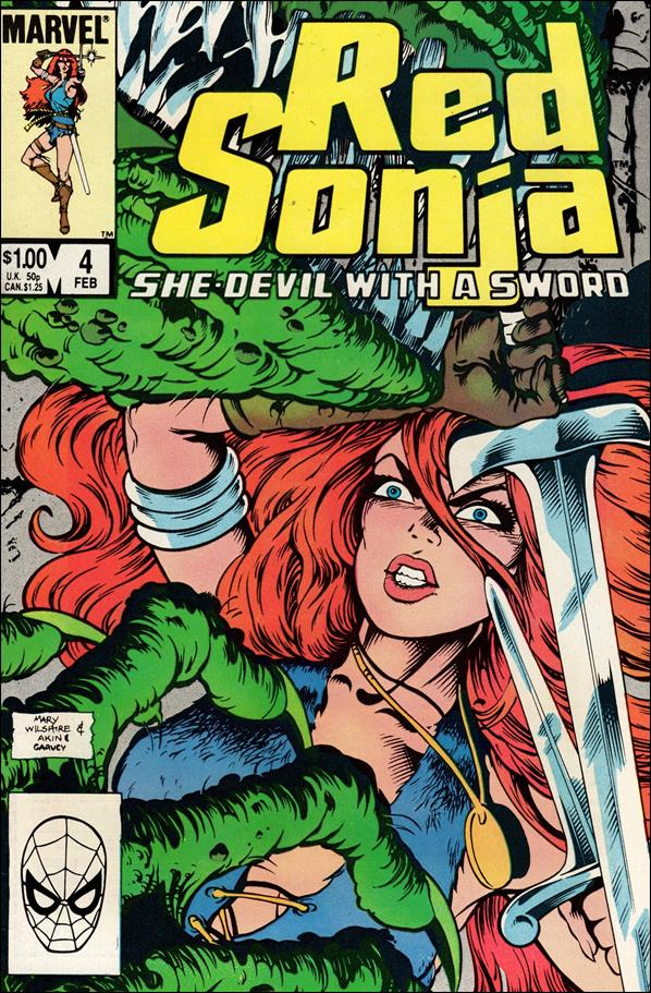 Red Sonja (1983/08) 4-A by Marvel