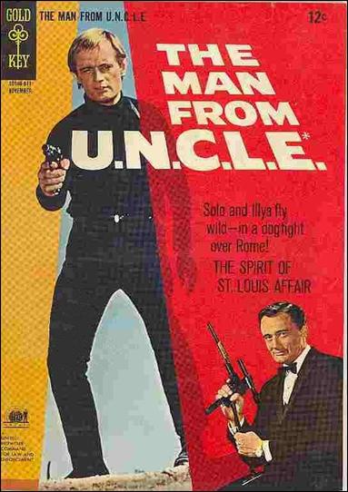Man from U.N.C.L.E. (1965) 9-A by Gold Key