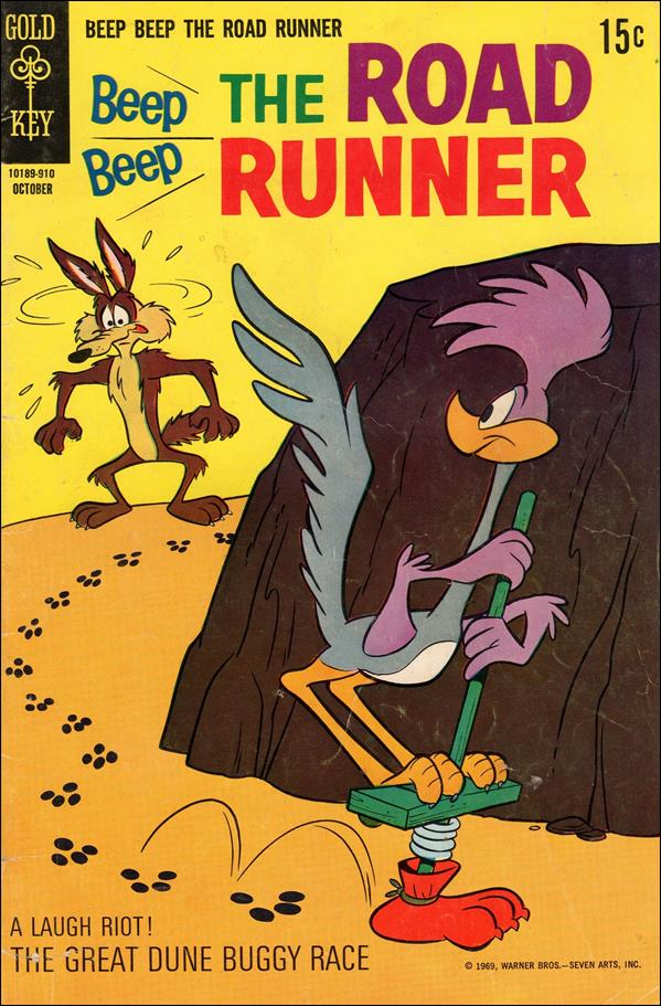 Beep Beep Road Runner 14-A by Gold Key