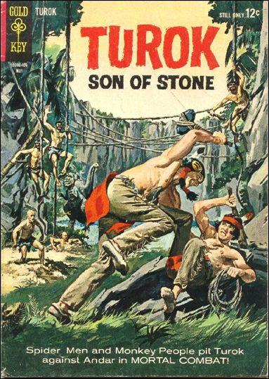 Turok, Son of Stone (1956) 39-A by Gold Key
