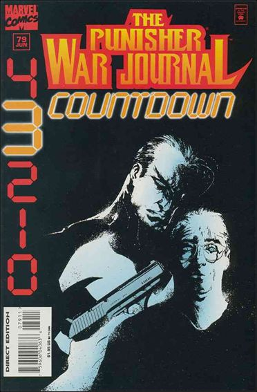 Punisher War Journal (1988) 79-A by Marvel