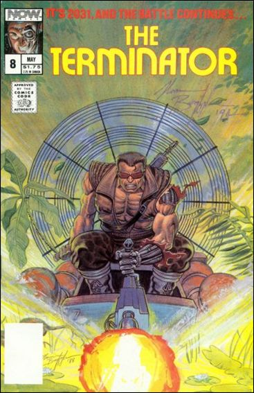 Terminator (1988) 8-A by Now Comics