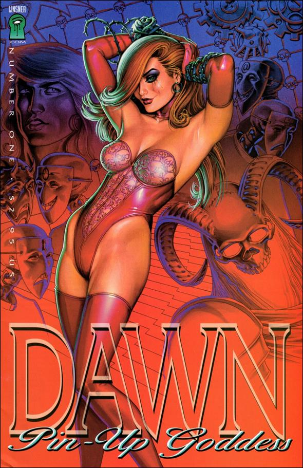 Dawn: Pin-Up Goddess 1-A by Linsner.com