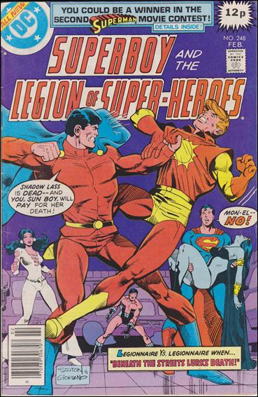Superboy & the Legion of Super-Heroes 248-C by DC