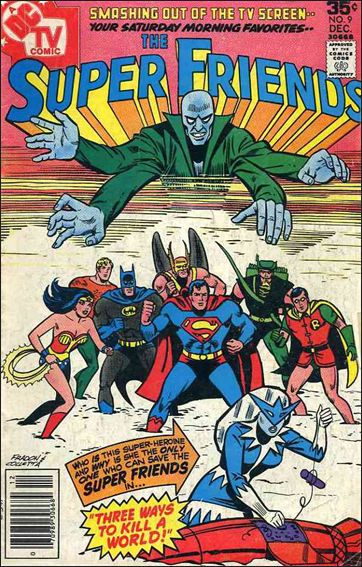 Super Friends (1976) 9-A by DC