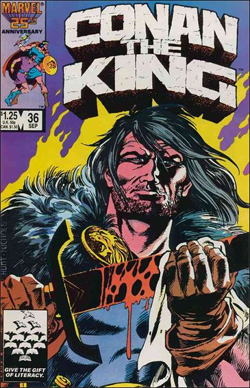 Conan the King 36-A by Marvel
