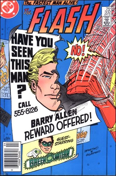 Flash (1959) 332-A by DC