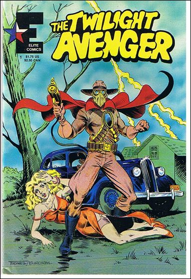 Twilight Avenger (1986) 1-A by Elite Comics