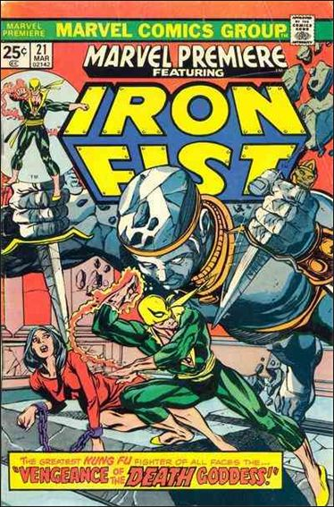 Marvel Premiere 21-A by Marvel