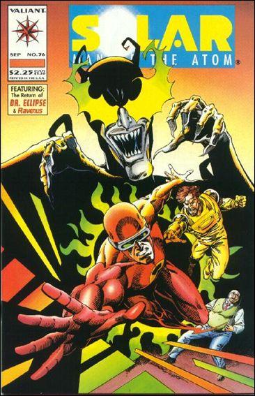 Solar, Man of the Atom (1991) 36-A by Valiant