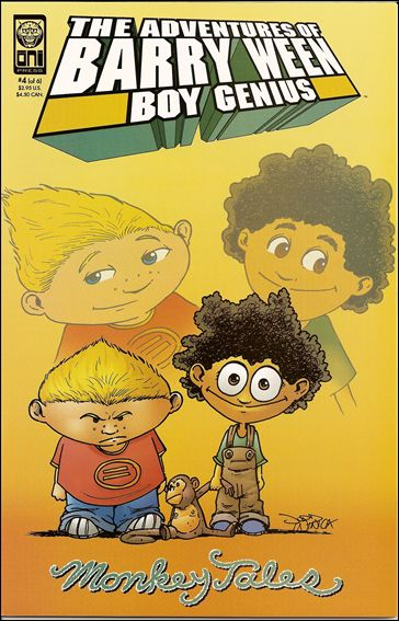 Adventures of Barry Ween, Boy Genius 3: Monkey Tales 4-A by Oni Press