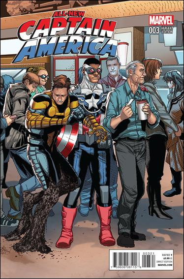 All-New Captain America 3-C by Marvel