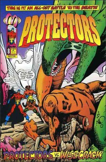 Protectors (1992) 8-A by Malibu