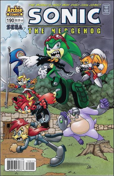 Sonic the Hedgehog (1993) 190-A by Archie