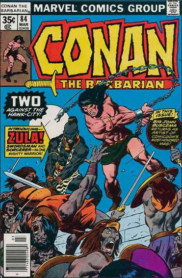 Conan the Barbarian (1970) 84-A by Marvel