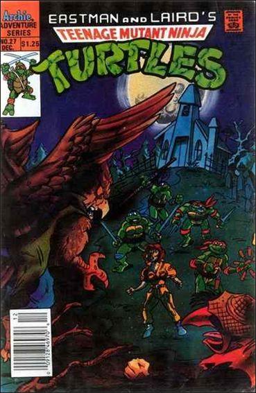 Teenage Mutant Ninja Turtles Adventures (1989) 27-A by Archie