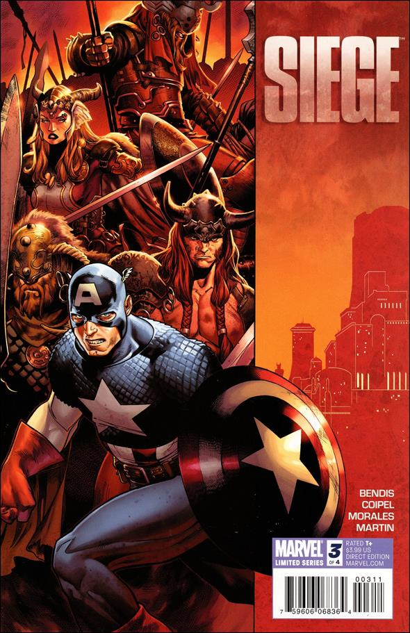 Siege (2010) 3-A by Marvel