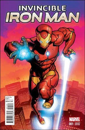 Invincible Iron Man (2015)  1-R