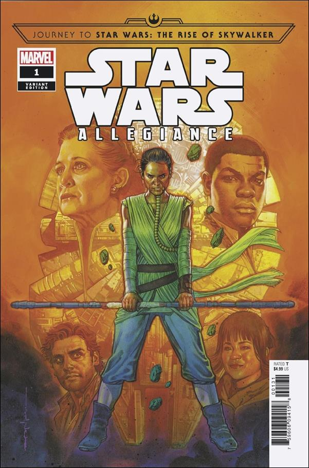 Journey to Star Wars: The Rise of Skywalker - Allegiance 1-B by Marvel
