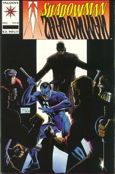 Shadowman (1992) 8-A by Valiant