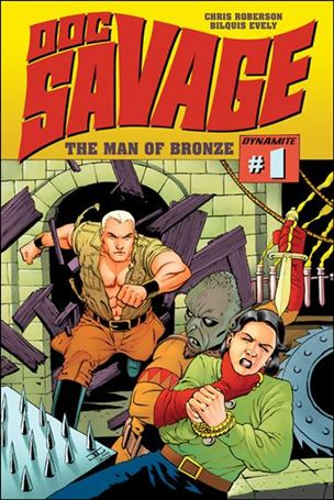 Doc Savage (2013) 1-B