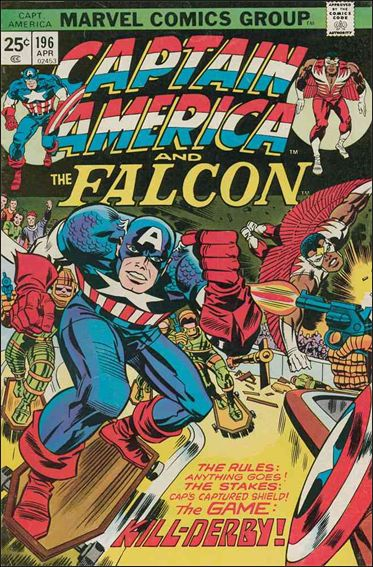 Captain America (1968) 196-A by Marvel
