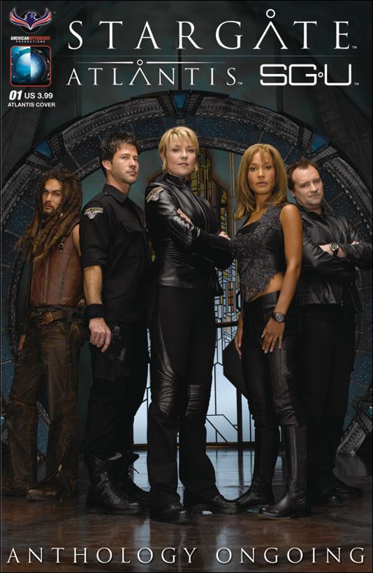 Stargate Atlantis Universe Anthology Ongoing 1-A by American Mythology