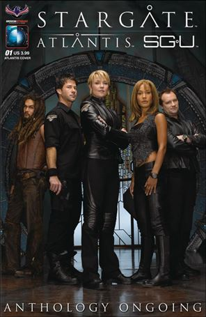 Stargate Atlantis Universe Anthology Ongoing 1-A