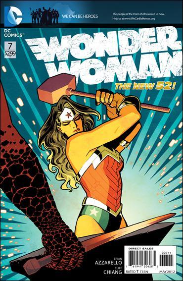 Wonder Woman (2011) 7-A by DC