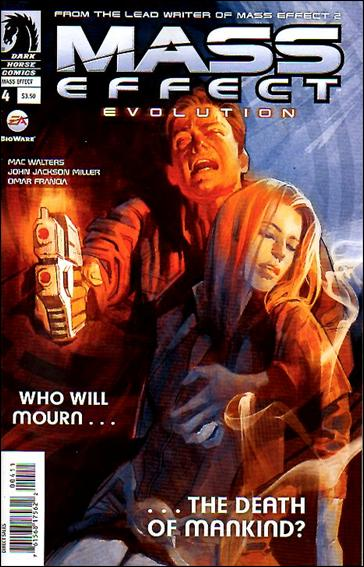 Mass Effect: Evolution 4-A by Dark Horse
