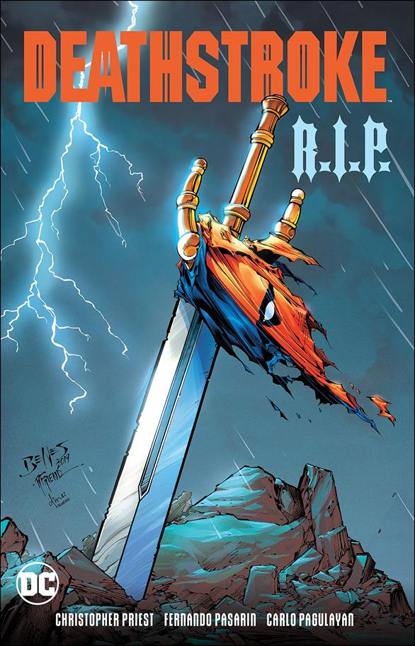 Deathstroke R.I.P. nn-A by DC