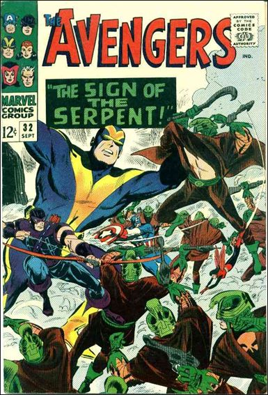 Avengers (1963) 32-A by Marvel