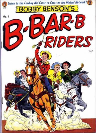 Bobby Benson's B-Bar-B Riders (1950) 1-A by Magazine Enterprises