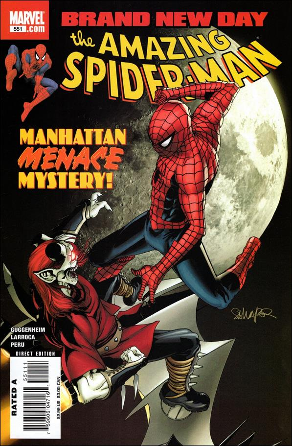 Amazing Spider-Man (1963) 551-A by Marvel