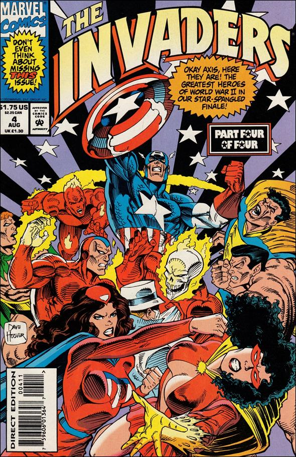Invaders (1993) 4-A by Marvel
