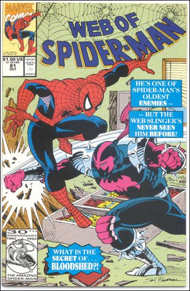 Web of Spider-Man (1985) 81-B by Marvel