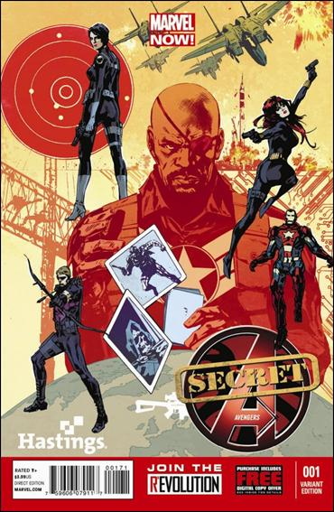 Secret Avengers (2013) 1-G by Marvel