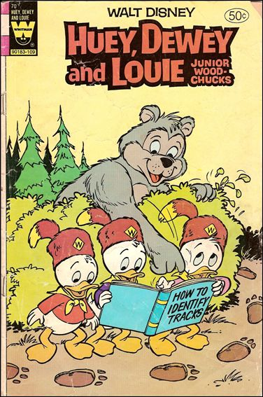 Walt Disney Huey, Dewey and Louie: Junior Woodchucks  70-A by Gold Key