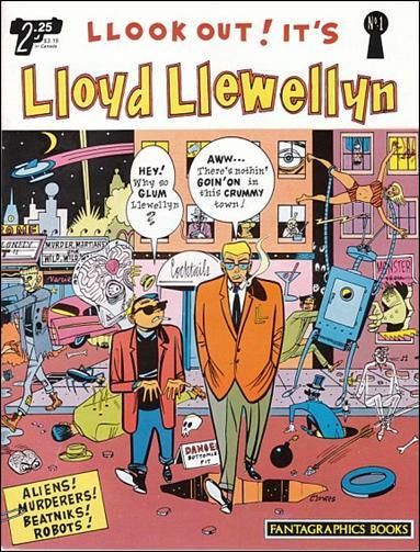 Lloyd Llewellyn 1-A by Fantagraphics