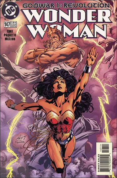 Wonder Woman (1987) 147-A by DC