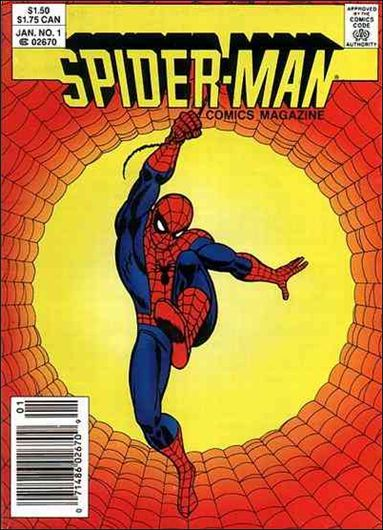 Spider-Man Comics Magazine 1-A by Marvel