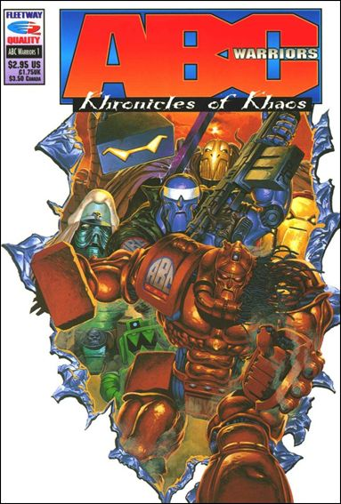 ABC Warriors: Khronicles of Khaos 1-A by Fleetway Quality
