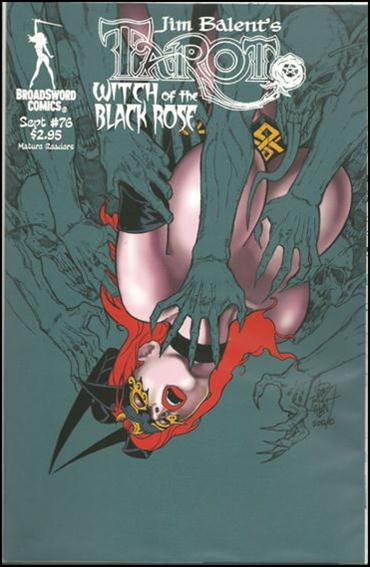 Tarot: Witch of the Black Rose 76-B by BroadSword Comics