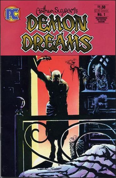 Demon Dreams 1-A by Pacific Comics